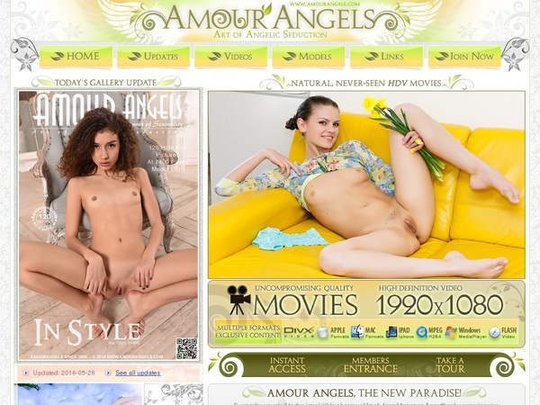 Amour Angels Paypal Trial