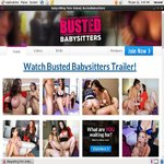 Busted Babysitters Discount Join Page