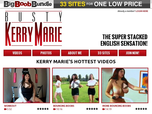 Busty Kerry Marie Paypal Trial