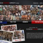 Czech Home Orgy Members Area