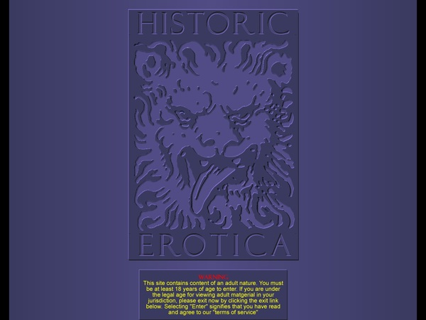 Historicerotica.com Join Form