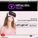 Virtual Real Trans Creampie