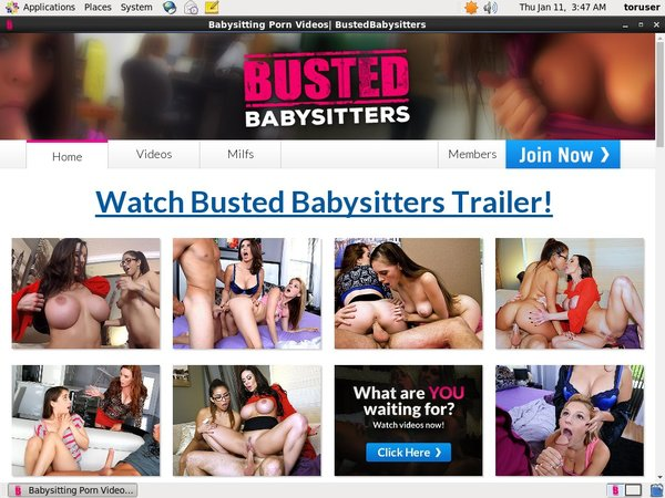 Bustedbabysitters.com Member Review