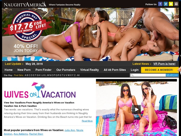 Use Wives On Vacation Discount Link