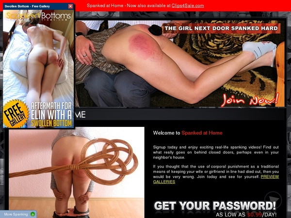 Spanked-at-home.com Premium Pass