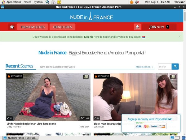 Nudeinfrance.com Free Access