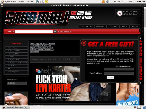 Get Studmall Password
