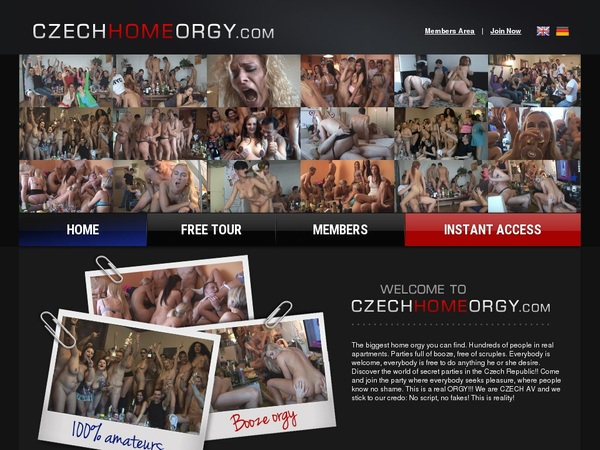 Free Account To Czech Home Orgy