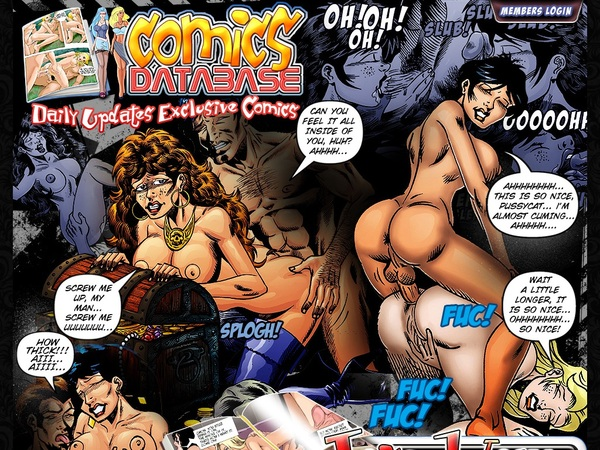 Comics Database Discount Password
