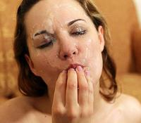 Nasty Little Facials blowjob
